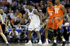 Syracuse's Frank Howard Denies Trying To Trip Zion Williamson: Video