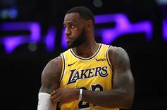 """LeBron James Ruled Out Against Pistons Due To """"Load Management"""""""