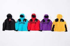Supreme & The North Face Team Up For Some Colorful Rain Gear