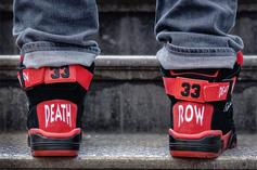 Death Row Records x Ewing 33 Hi Now Available: Official Images