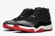 """Air Jordan 11 """"Bred"""" Rumored To Release In Full Family Sizing: Details"""