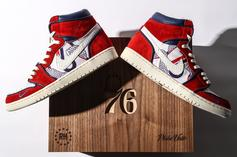 "Sixers ""Phila Unite"" Air Jordan 1s Made Exclusively For Celebrity Fans"