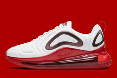"Nike Air Max 720 ""Gym Red"" Release Date Confirmed: Official Images"