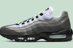 """Nike Air Max 95 """"Fresh Mint"""" Drops This Friday: Official Details"""