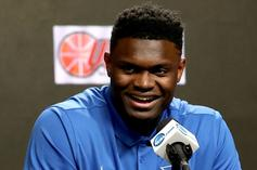 "Zion Williamson Was Reportedly ""Rooting To Go To New York"""