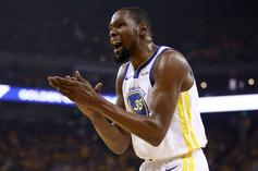 """Kevin Durant Ruled A """"Long Shot"""" To Return For Game 2 Of NBA Finals"""
