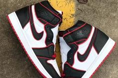 Air Jordan 1 Surfaces In New Bred Colorway: First Look