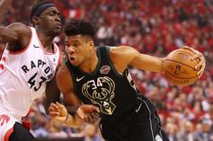Giannis Antetokounmpo Posterizes Fans During Basketball Camp: Watch