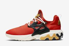 "Nike React Presto ""Tomato Tornado"" Drops Soon: Official Images"