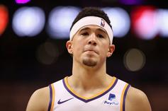 Devin Booker Gets Heated When Double-Teamed In Pickup Game: Twitter Reacts