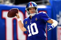 Eli Manning Breaks His Silence On Being Benched By The Giants: Watch