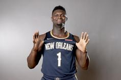 Zion Williamson Boldly Predicts His NBA Rookie Statline: Watch