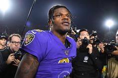 Lamar Jackson Has Hilarious Reaction To Madden Speed Rating: Watch