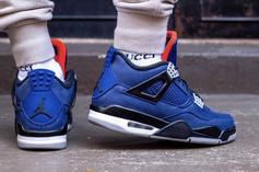 """Air Jordan 4 WNTR """"Loyal Blue"""" Release Date Changed: New Details"""
