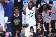 "LeBron James Admits Bronny Is The Superior Shooter: ""Flame Thrower He Has"""