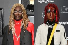 Young Thug & Lil Keed Seemingly Kiss In This Video