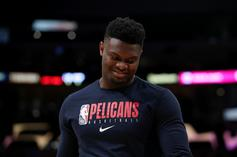 Zion Williamson Has One-Sided Jersey Exchange With JaVale McGee
