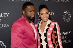 50 Cent's Girlfriend Almost Catches Him Slippin'