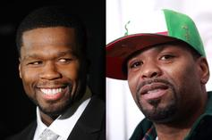 """50 Cent & Method Man Connect For """"Power: Book II"""" Interview"""