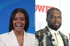 """Candace Owens Defends 50 Cent's Trump Support: """"He's Smart & You're Not"""""""
