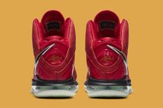 """Nike LeBron 8 """"Gym Red"""" Coming Soon: Official Photos"""