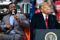 50 Cent Anticipates Trump's Imprisonment If He Loses Election