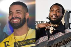 "Drake, Meek Mill, & Lil Baby Gamble At A ""Goat Get Together"""