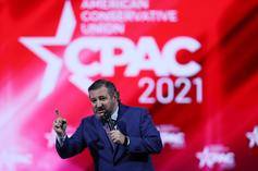 Ted Cruz Jokes About His Cancun Trip & Warns Of Donald Trump's Return At CPAC
