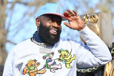 """Rick Ross Reflects On """"Coming 2 America"""" Filming At His Estate"""