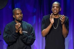 """Jay-Z & Kanye West's """"N***as In Paris"""" Goes Octuple Platinum"""