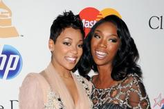 """Monica Laughs At Fan Who Thinks """"The Boy Is Mine"""" Fight With Brandy Is Real"""