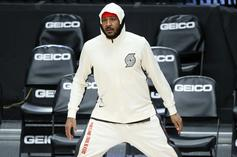 Carmelo Anthony Jokingly Expresses Disgust With Pistons Fog Machine