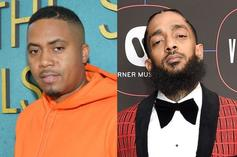 """Nas Reveals Nipsey Hussle Wanted To Make """"I Am..."""" Documentary"""