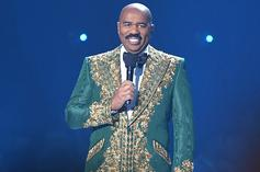 Steve Harvey Goes Viral For His Icy Dolce & Gabbana Set