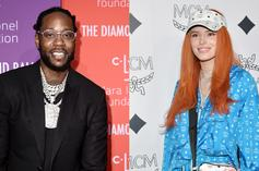2 Chainz & Bella Thorne Marvel At Each Other's Iced-Out Jewelry