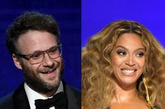 """Seth Rogen Jokes About Being """"Humiliated"""" By Beyoncé's Security At The Grammys"""