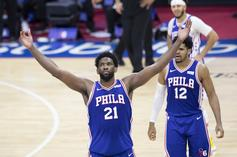 "Joel Embiid Shouts Out Sam Hinkie As 76ers Clinch No.1 Seed: ""Trust The Process"""