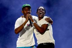 """Tyler, The Creator Roasts A$AP Rocky: """"Suck That F*cking Stomach In"""""""