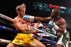 Floyd Mayweather-Logan Paul Clip Leads To Knockout Conspiracy