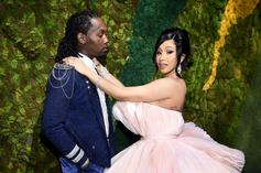 Cardi B Showers Offset With Love And Praise On Father's Day