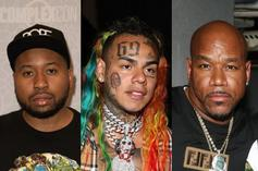 Akademiks Gives First-Look Into 6ix9ine & Wack 100's Face-To-Face Interview