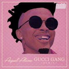 """August Alsina Kills This Smooth """"Gucci Gang"""" Remix"""