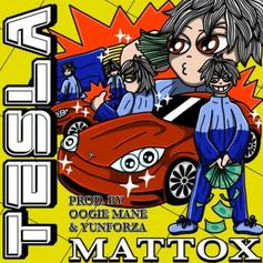 "Matt Ox Swerves Off In A ""Tesla"" On His New Track"