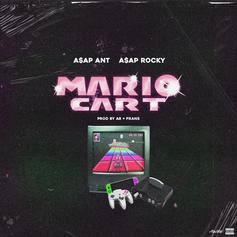"A$AP Rocky & A$AP Ant Duck Chain Chomp In ""Mario Cart"""
