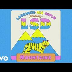 "Diplo, Sia & Labrinth Come Together As LSD On ""Mountains"""