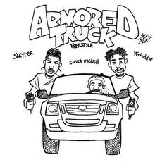 "ASAP Ant & Slayter Ride Through In An ""Armored Truck"""