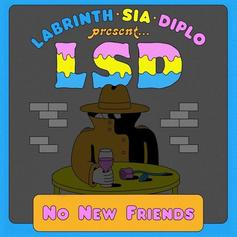 "Labrinth, Sia & Diplo Return As A Unit With ""No New Friends"""