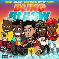 "Fetty Wap, Soulja Boy, Phresher, PluHeph Link With Skinnyfromthe9 For ""Bling Blaow"""