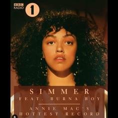 "Mahalia & Burna Boy Cool Down On ""Simmer"""