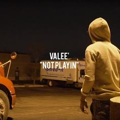 "Valee Delivers More Witty Flexes On ""Not Playin"""